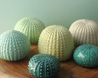 white faux cactus