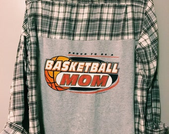 The proud basketball mom