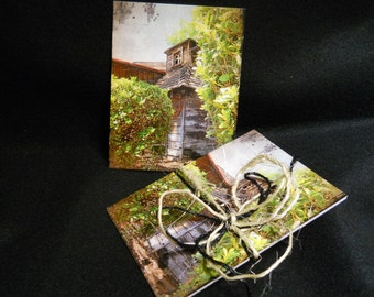 Set of 6 Postcards The Forgotten Memory - Fine Art Photography - Standard Size Cards