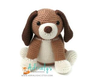 Crochet Dog | Crochet Dog | Crochet Animals | Crochet Toy | Dog Amigurumi | Plush Dog Toy | Stuffed Animal Dog | Made to Order