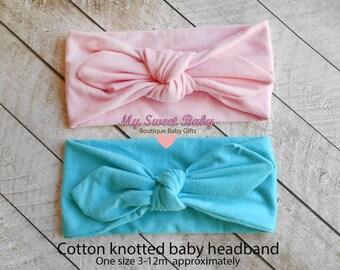 Baby Headband,newborn headband,Baby Headbands,Vintage inspired Pink Headband, Blue Headband, Babyheadband, Girl Headband
