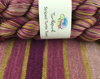 City Girl - Hand-dyed Self-Striping Sock Yarn