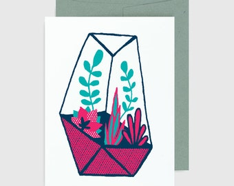 Everyday Card - Terrarium