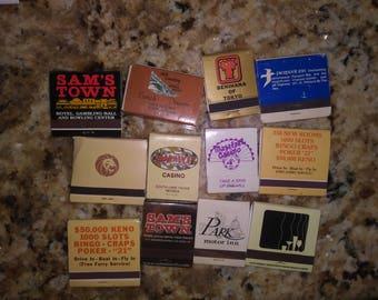 Vintage las Vegas match books