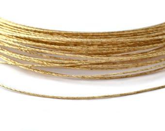 1 meter of Golden wire 0,8 mm copper / FMS001