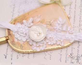 Garter wedding Ganssia-Garter-leg garter lace silk jewelry