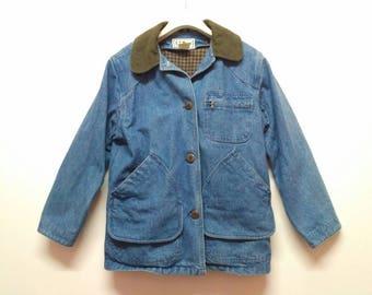 Vintage LL Bean Denime Jacket Medium/Large Size