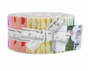 "Circulus Jelly Roll (40 - 2 1/2"" x WOF strips) designed by Jen Kingwell Designs for Moda Fabrics"