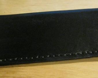 Black Leather Eye Case