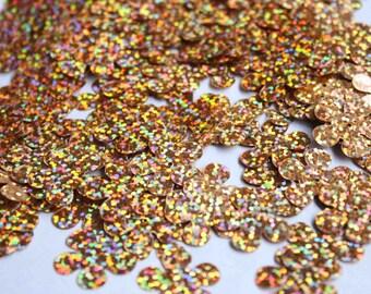20 pcs flower sequins......metallic color/KBBF453