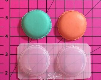 ON SALE!! Macarons flexible plastic resin mold