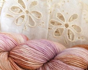 "Merino Singles Yarn ""Rusty"", Hand-dyed"