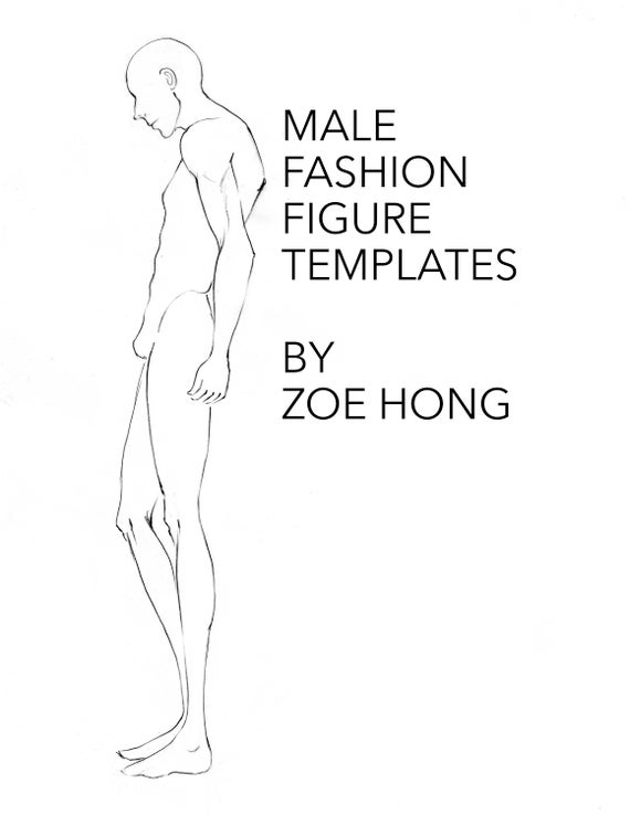 Fashion Figure Templates Gallery Template Design Ideas
