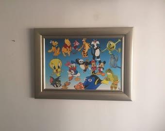 Disney Digital Print Download- Perfect for kids rooms