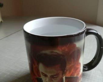 Johnny Cash magic mug