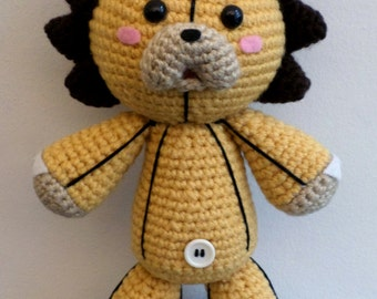 Crochet Doraemon Amigurumi : Pattern: crochet bleach kon amigurumi