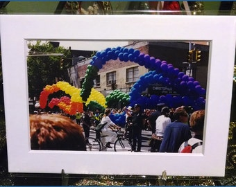 Gay Pride Parade: Balloon Arches Photograph (2000s)