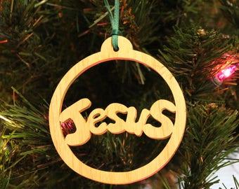 Ornament - Jesus - Ash