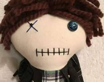 Aaron - Inspired by TWD - Creepy n Cute Zombie Doll (P)