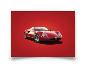 Colors of Speed - Alfa Romeo 33 Stradale