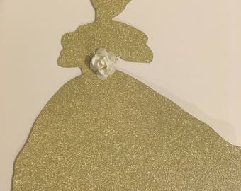 Princess Cake Topper in Variety of colours