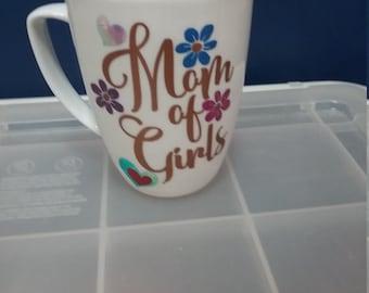 Mom of Girls mug