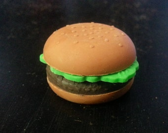 Hamburger Eraser Set of 5 pcs