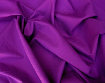 Magenta Cotton Twill Spandex Fabric 4 Way Stretch by the Yard (Chino Pants)