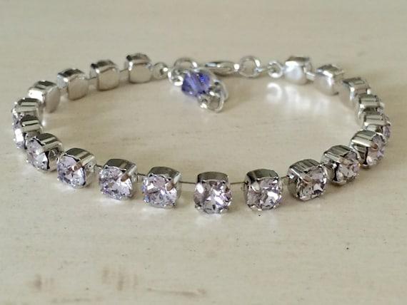 Stackables Crystal Smoky Mauve Bracelet