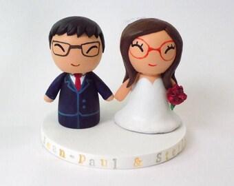 Custom wedding figures