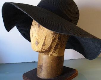 Vintage Wide Brim Summer Hat
