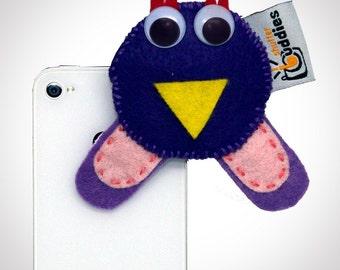 Shutter Buddies Paul Purple Owl for smart phone shutter buddy