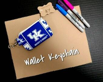 Kentucky Wallet Keychain