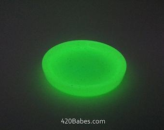 """Glow in the dark 2"""" Trinket Tray Dish"""
