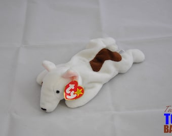 Butch the Vintage 1998 Ty Beanie Baby Puppy Dog