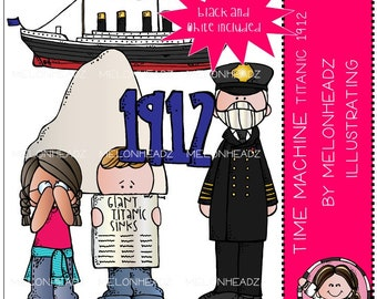 Time Machine clip art - Titanic - Mini