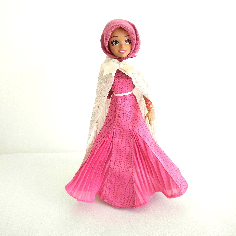 Muslimischen Puppe, Eid Gegenwart, Hijarbie Puppe, islamische Spielzeug, muslimischen Spielzeug, islamische Puppen, islamische Geschenke, Hijabi Puppe, asiatische Puppe, ethnische Puppe