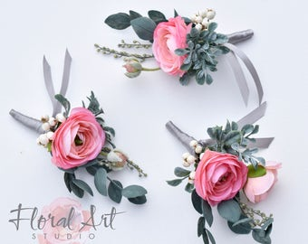 Wedding Boutonniere, Groom's Boutonniere, Boutonnieres, Groomsmen's Boutonniere, Boutonniere, Wedding accessories, Wedding flowers.