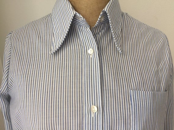 Mister Fish vintage striped blouse or shirt, size 42 (fits 38/40)
