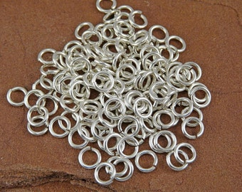 Silver Filled Jump Rings - 150 20 gauge 3.25mm Inner Diameter Jump Rings