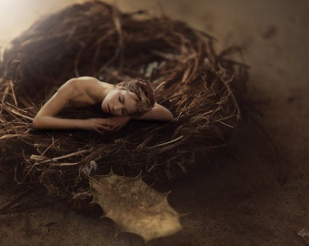"Portrait Photography, Woman, Female Portrait, Fine Art Portrait, Conceptual Art, ""Awakening"""