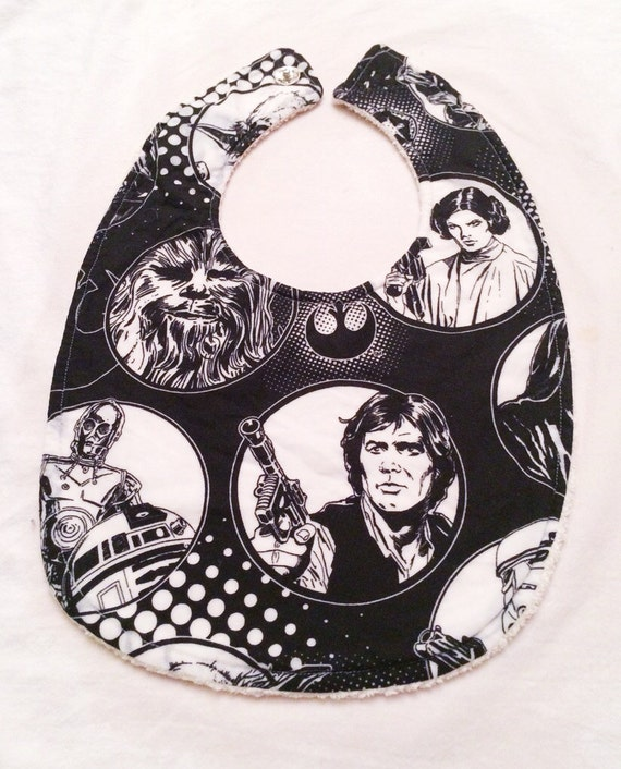 Get Your Geek On - Baby Bib - Organic Cotton and Organic Terry Cloth