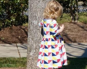 Bekleidung-Mädchen Kleid - Alltag spielen Dress - Mädchen - Knit Dress