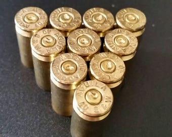 Set of 100 .40 Caliber Spent Bullet Shell Casings