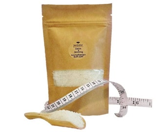 SLIMMING DETOX BATH Salts - All Natural, helps eliminate toxins, water retention, aids slimming process, 250g/8.8oz or 500g/17.6oz