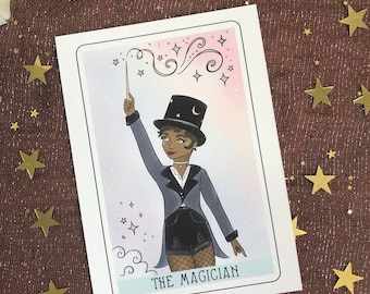 The Magician Tarot Card Illustration 5x7 Fine Art Print
