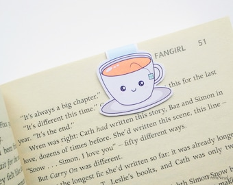 Cute Tea Magnetic Bookmark