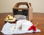 Paneer and Queso Blanco D.I.Y. Cheese Kit, Easiest Cheeses to Make- 8 batches