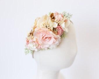 baby flower crown, flower crown headband baby, baby flower headband, toddler floral headband, toddler flower headband, first birthday crown