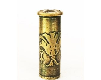 Bullet Pendant, Jewelry Component, Bullet Charm - Free Domestic Shipping